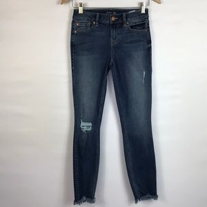 LEVEL 99 High Waist Skinny Jeans Size 25